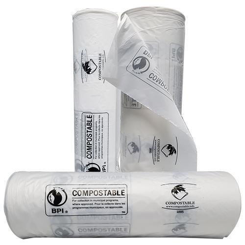 Compostable produce rolls