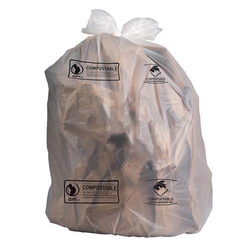 Compostable bin liners