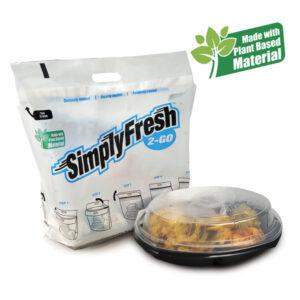Tamper evident food delivery bags