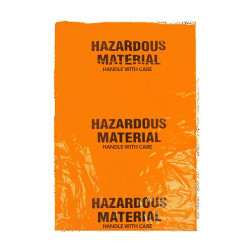 Hazardous waste bags